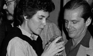 Susanna Moore with Jack Nicholson in LA, 1973.