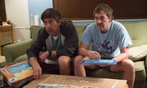 Ray Romano and Mark Duplass in Paddleton.