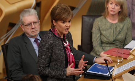 Nicola Sturgeon gives a statement to Holyrood on the Scottish government's position on Brexit.