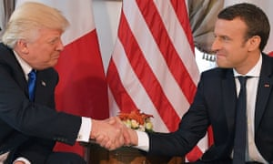 Donald Trumps Strange Handshake Style And How Justin Trudeau Beat