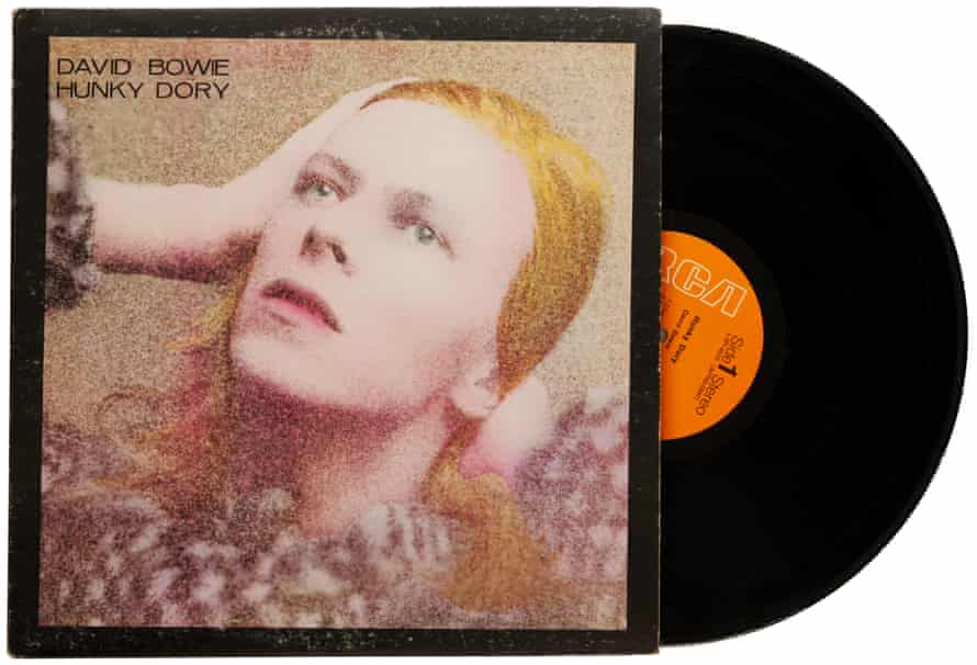 David Bowie Hunky Dory album