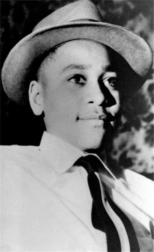An undated portrait shows Emmett Till, a black 14-year-old Chicago boy, who was brutally murdered near Money, Mississippi, Aug. 31, 1955, after whistling at a white woman.