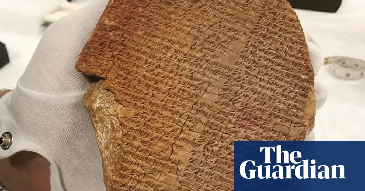 Ancient Gilgamesh tablet seized from Hobby Lobby by US authorities