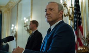 Some viewers felt that the scale of nepotism and corruption in Frank Underwood's presidency was becoming politically unrealistic. But that was last year…