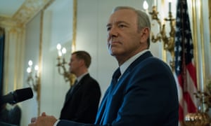 'They even need help writing their wildest dreams, crafting their worst fears' … President Underwood fires barb after barb at the voting public.