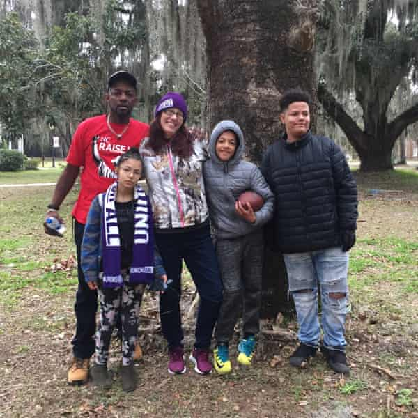 The Fearringtons are trying to make ends meet on $125 in unemployment benefits each week.