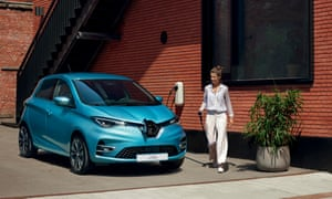 RENAULT ZOE (B10)E3 VERSION with WALL CHARGING SOCKET