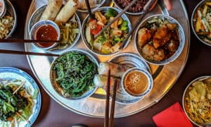 Chinese officials are encouraging the serving of separate portions rather than 'family style', where a group shares several dishes.