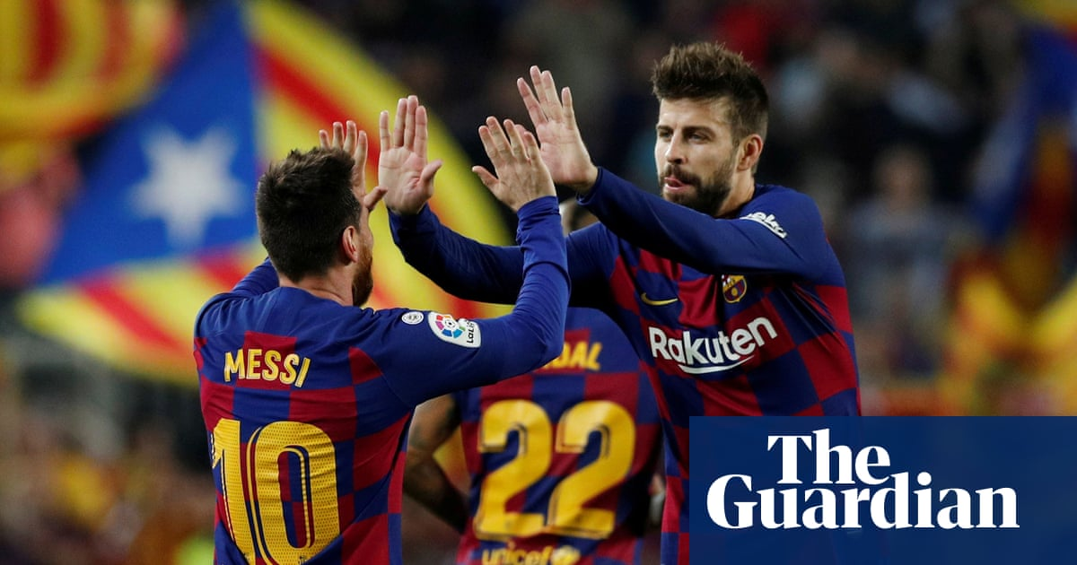 How can it be?: Piqué tears into Barcelona over Messi situation