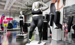 Shame shame shame: 'obese' mannequin displayed in London's Nike store. Tanya Gold dared to say the company was being 'cynical'.