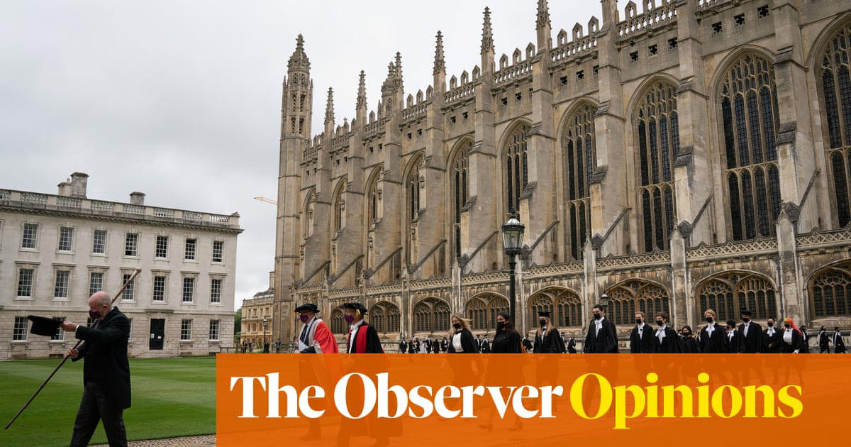 The real rivalry between Oxford and Cambridge is how low they can go for money