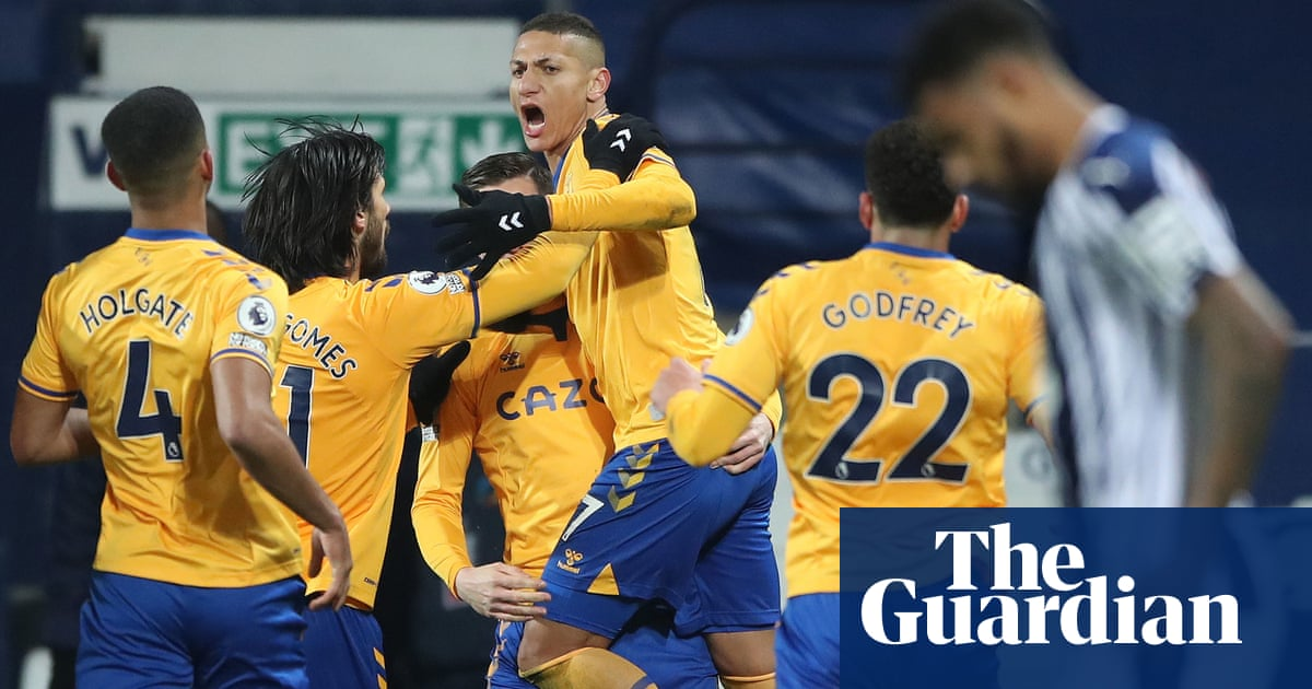 Richarlison boosts Evertons European hopes and adds to West Broms woes