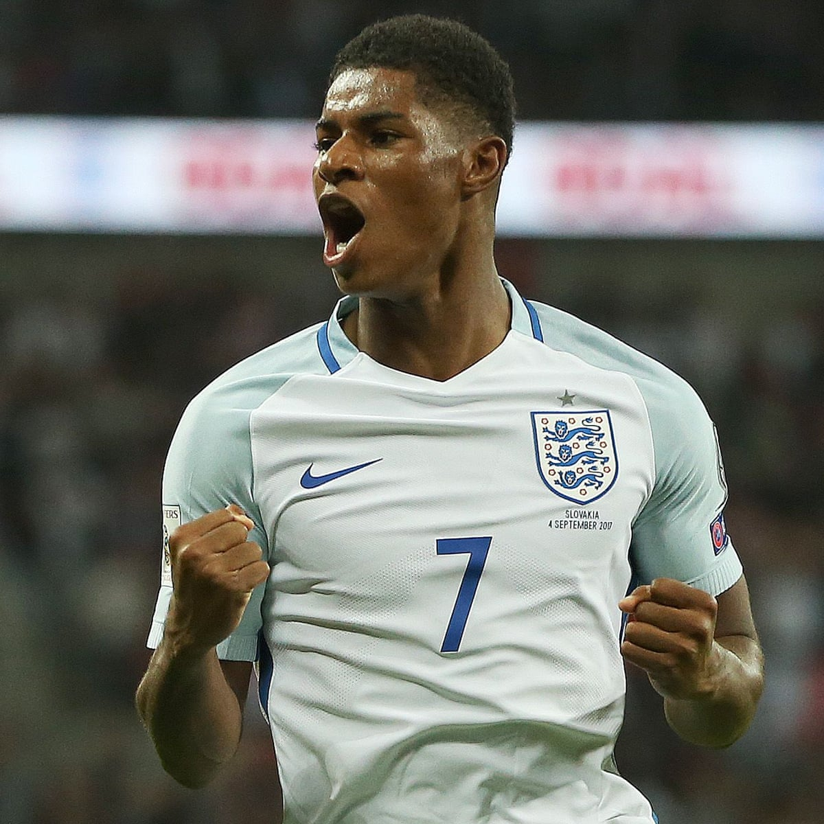 Wembley S Sullen Mood Dispelled By A Touch Of Class From Marcus Rashford Barney Ronay Football The Guardian