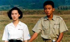 Chang Chen and Lisa Yang in A Brighter Summer Day.