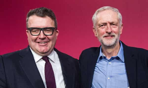 Watson and Corbyn - the new Labour leadership duo.