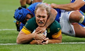 Schalk Burger was key to South Africa's march to the World Cup semi-finals last year.