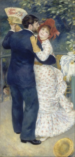 Dance in the Country by Pierre Auguste Renoir.