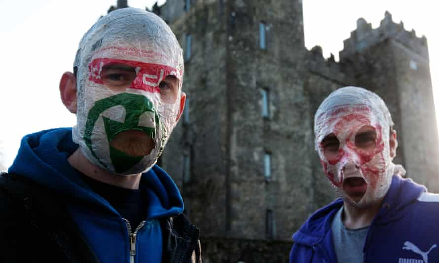 Blindboy Boatclub (left) and Mr Chrome of The Rubberbandits