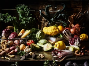 Winter opulence - a sumptuous still life of winter vegetables