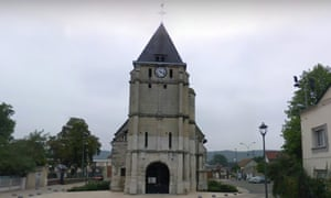 The church at Saint-Etienne-du-Rouvray, Rouen. where Father Jacques Hamel was killed.