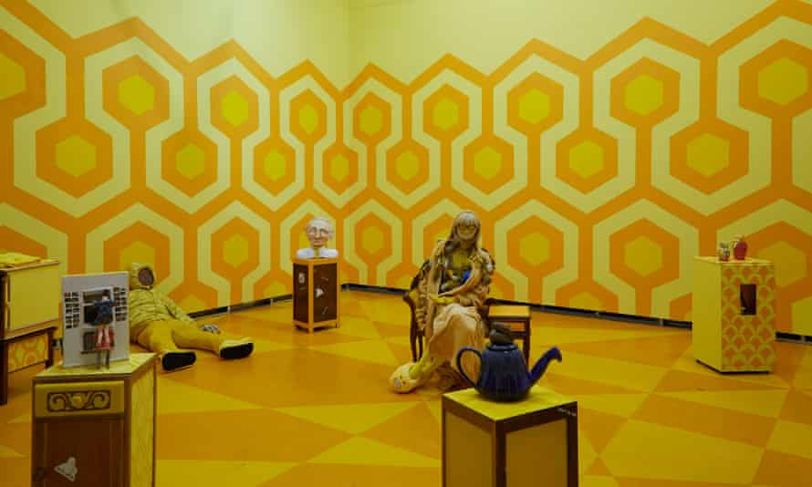 Lindsey Mendick's show The Yellow Wallpaper.