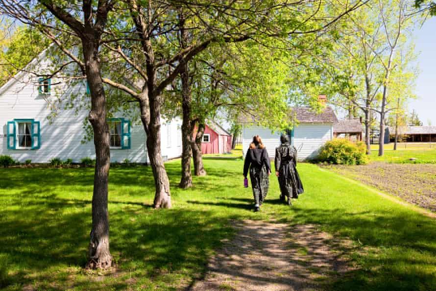 The Mennonite Heritage Village in Steinbach, Manitoba.