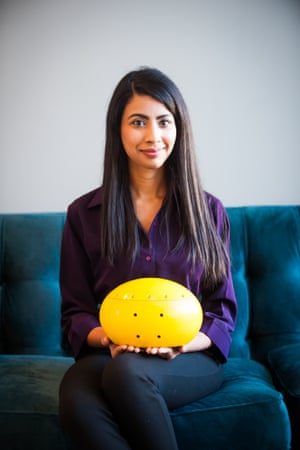 The Hydroswarm sea drone and its inventor Sampriti Bhattacharyya