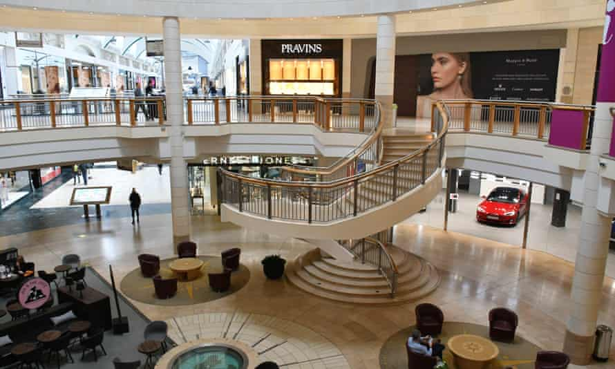 The Bluewater shopping mall in Kent