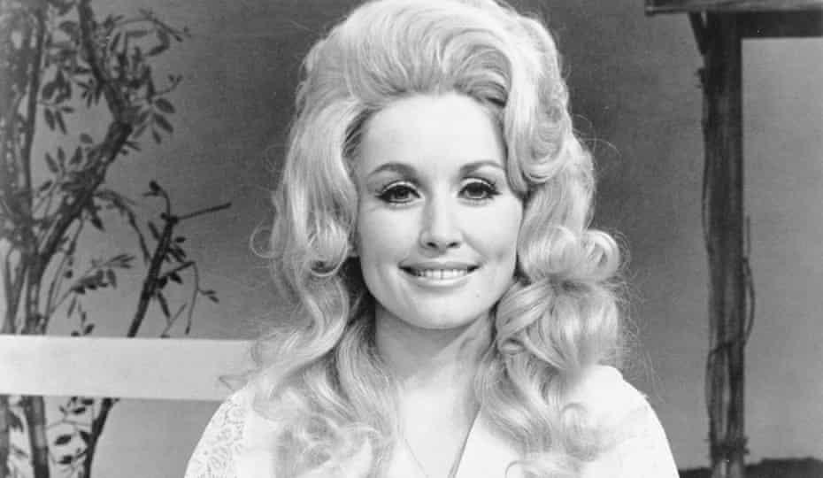 Dolly Parton in 1972.