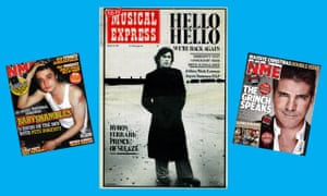 NME covers featuring Bryan Ferry (centre), Pete Doherty and Simon Cowell