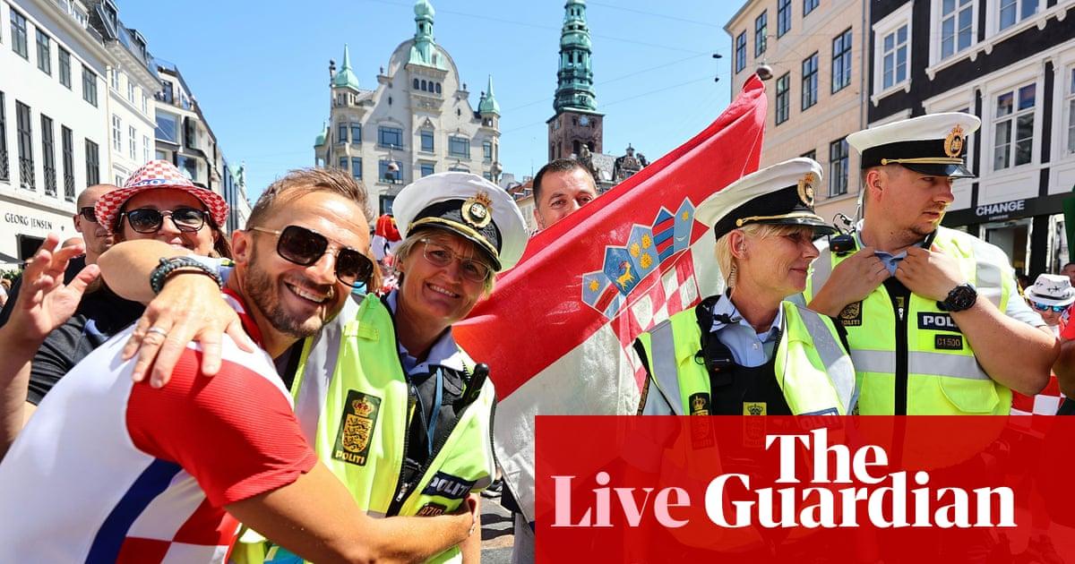 Croatia v Spain: 유로 2020 last 16 – live!