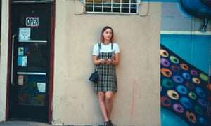 Saoirse Ronan in Lady Bird, nominated for best actress