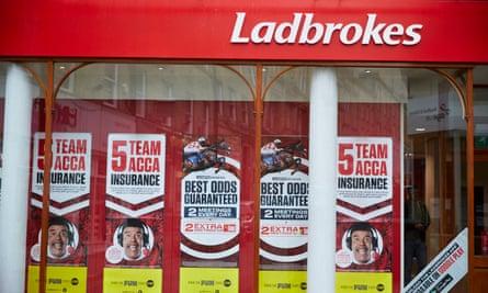 A Ladbrokes shop