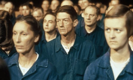 John Hurt in the 1984 adaptation of Nineteen Eighty-Four.
