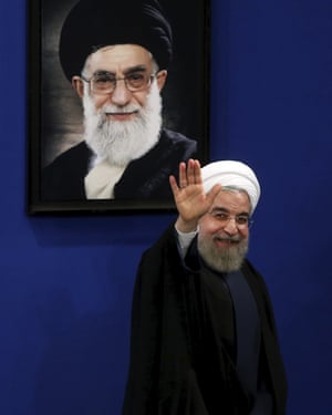 President Hassan Rouhani of Iran's policy of 'strategic patience' with Donald Trump is now seen as a failure.