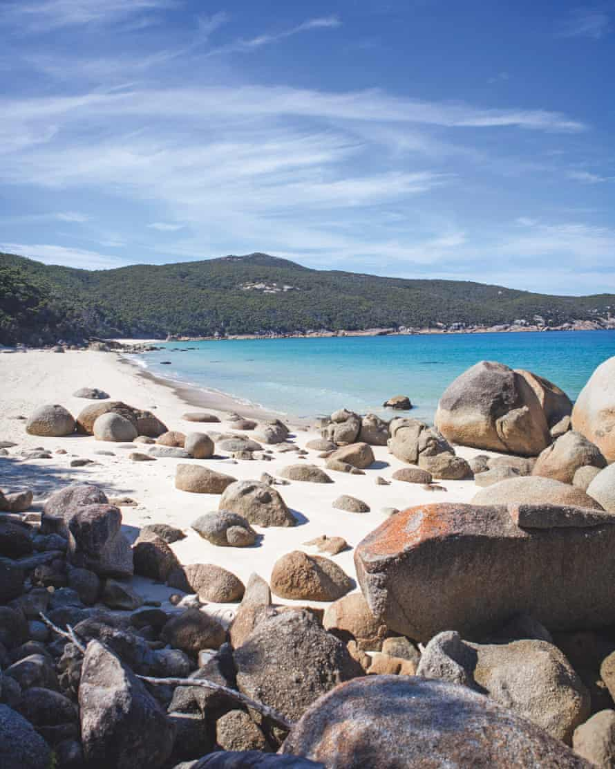 Little Waterloo Bay is hard to get to (even for the prevailing westerly winds), which is one thing that makes it so special