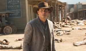 James Marsden as Teddy Flood in Westworld.