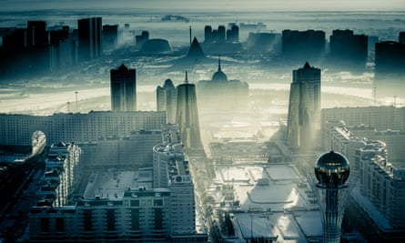 Astana, capital city of Kazakhstan, was inaugurated 20 years ago.