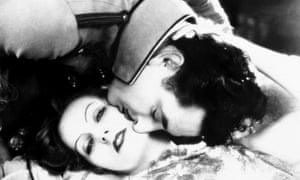 Greta Garbo and John Gilbert in Flesh and the Devil (1926).