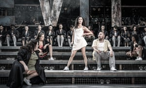 Evita review – Argentina's queen of hearts as a high-school