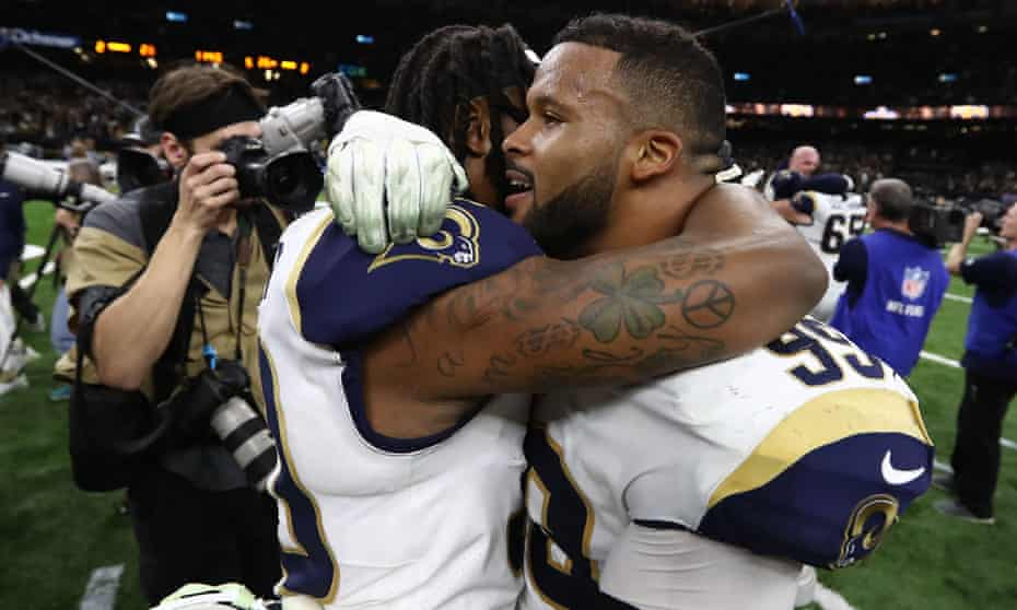 Aaron Donald, the league's most disruptive defender, will be at Super Bowl LIII