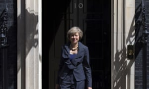 Theresa May will move into 10 Downing Street today.