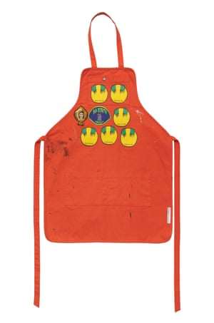 Sterling Ruby's 500 Apron W:Patches (#4522.0001), 2011.