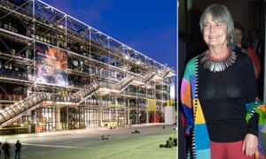 Teamwork … Su Rogers, who co-designed the Pompidou in Paris.