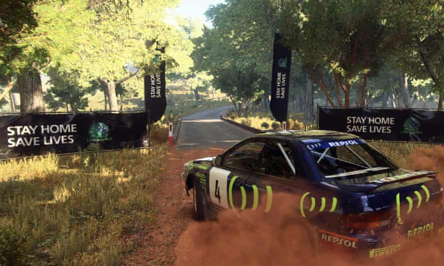 """Codemasters featured the government's message """"Stay Home, Save Lives"""" in its game DiRT Rally 2.0"""