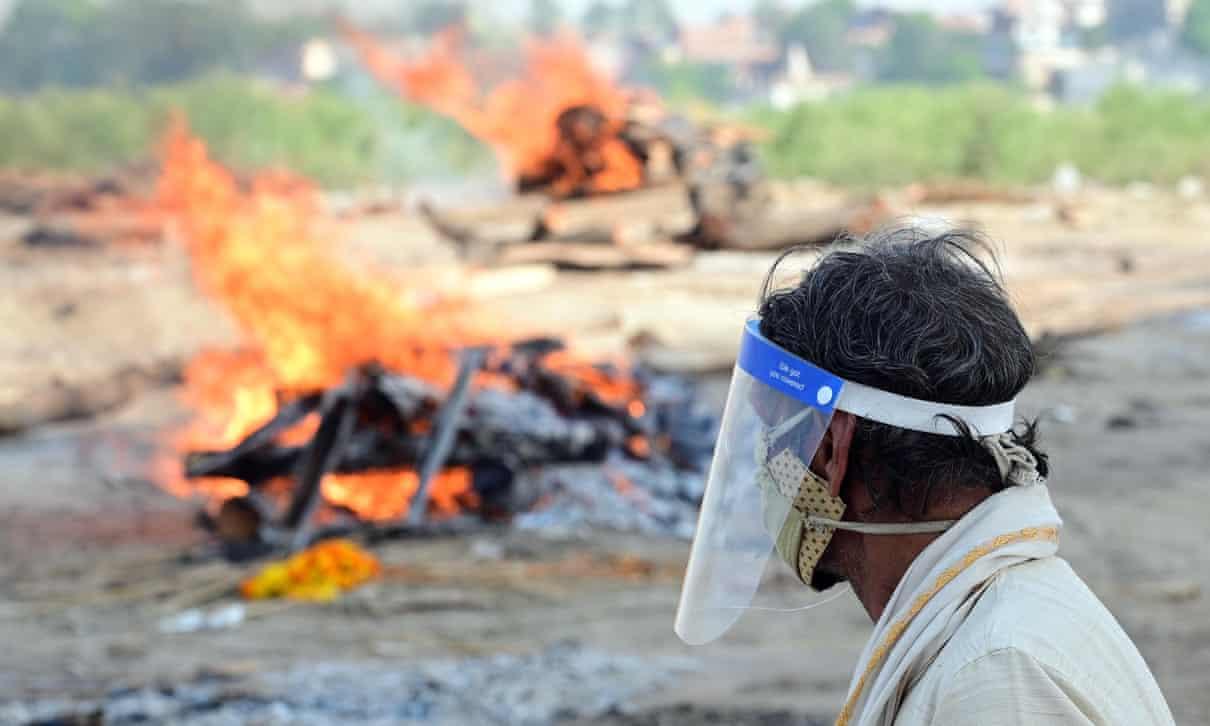 India : Dozens of suspected Covid victims wash up on Ganges River banks,coronavirus, covid19, india coronavirus , Harbouchanews
