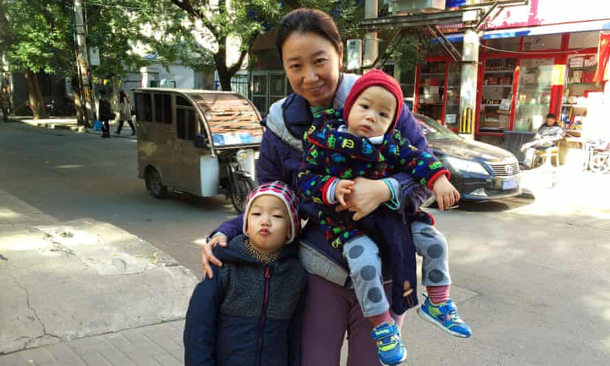 Fancy Chen had her second child following a 2013 policy change that allowed parents who were both only children to have two children.