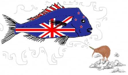 Charlotte Drene NZ flag