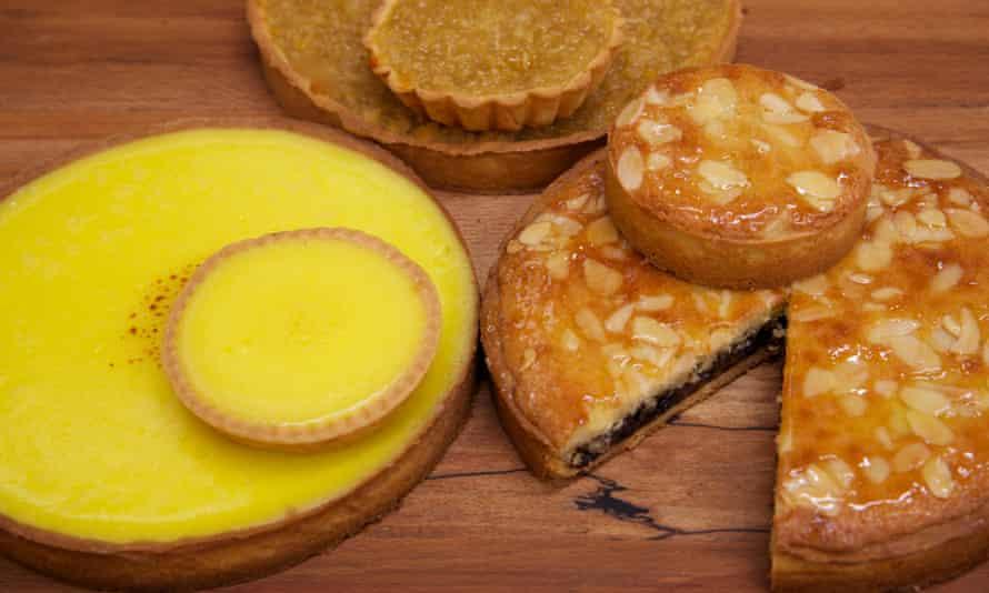 Hambleton Bakery's mouthwatering tarts.