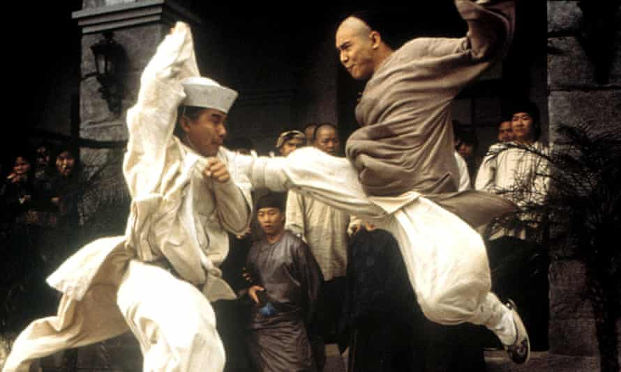 A scene from Once Upon a Time in China